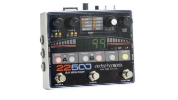 Electro Harmonix 22500: Dualer Stereo-Looper