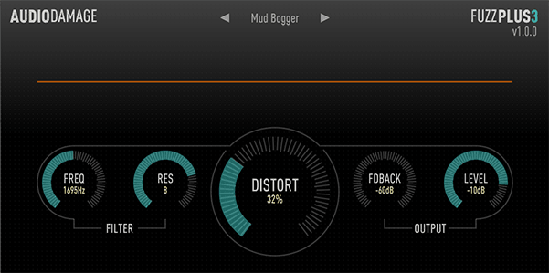 Free VST Plugins: Audio Damage FuzzPlus 3