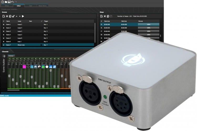 Marktübersicht DMX Controller - ADJ myDMX 2.0