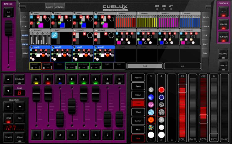 Marktübersicht DMX Controller - Visual Productions Cuelux