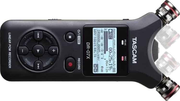 TASCAM DR-07X - Mobile Digitalrecorder