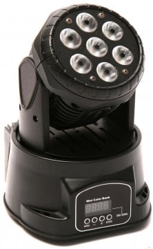 Moving Heads Marktübersicht - Varytec LED Easy Move XS HP Wash