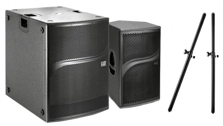 Marktübersicht PA-Lautsprecher - Beispiel-Setups - LD Systems