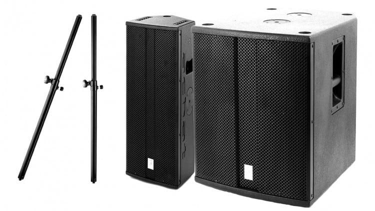 Marktübersicht PA-Lautsprecher - Beispiel-Setups - the box pro
