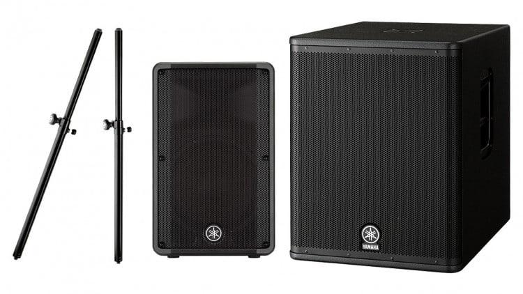 Marktübersicht PA-Lautsprecher - Beispiel-Setups - Yamaha