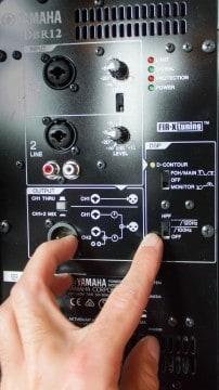 PA anschließen Workshop - Yamaha DBR12 DSP