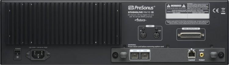 PreSonus StudioLive RM16AI Testbericht