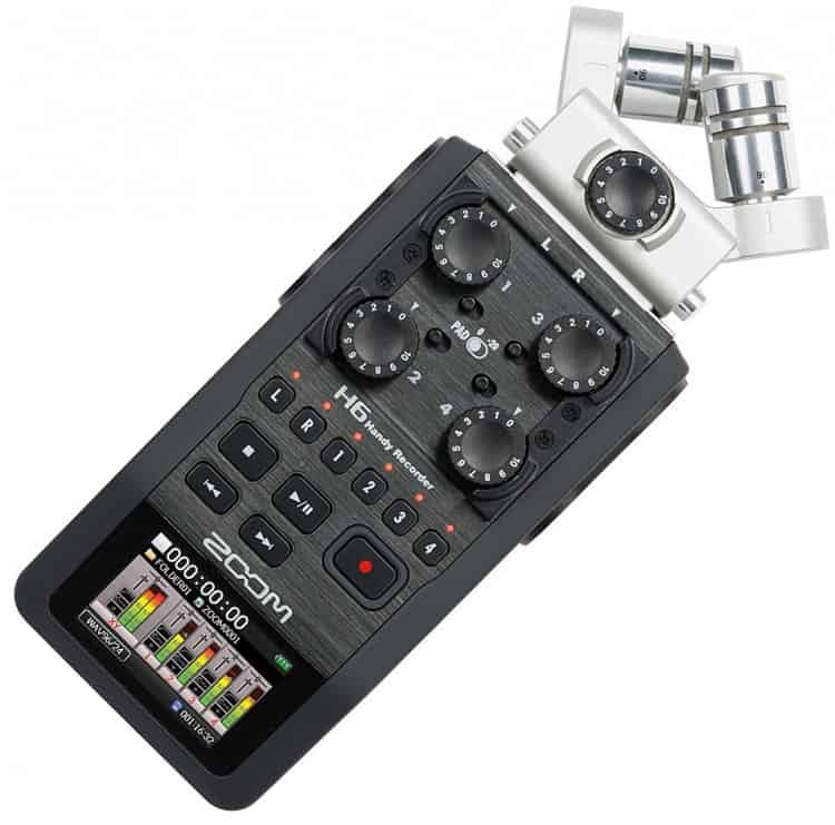 Recorder - Field Recorder - Zoom H6