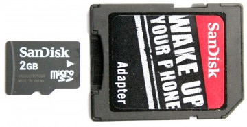 Audio Recorder - microSD-Adapter