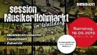 session Musikerflohmarkt am 16. Mai in Walldorf