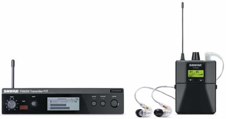 Empfänger & Sender - Test: PSM 300 Premium von Shure