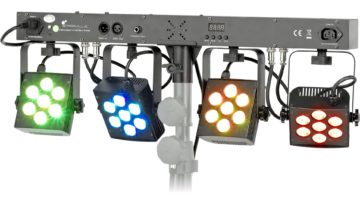 Stairville CLB4 Compact LED Bar 4 TriPAR Testbericht