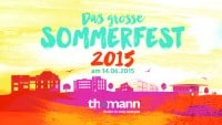 thomann Sommerfest 2015 am 14. Juni