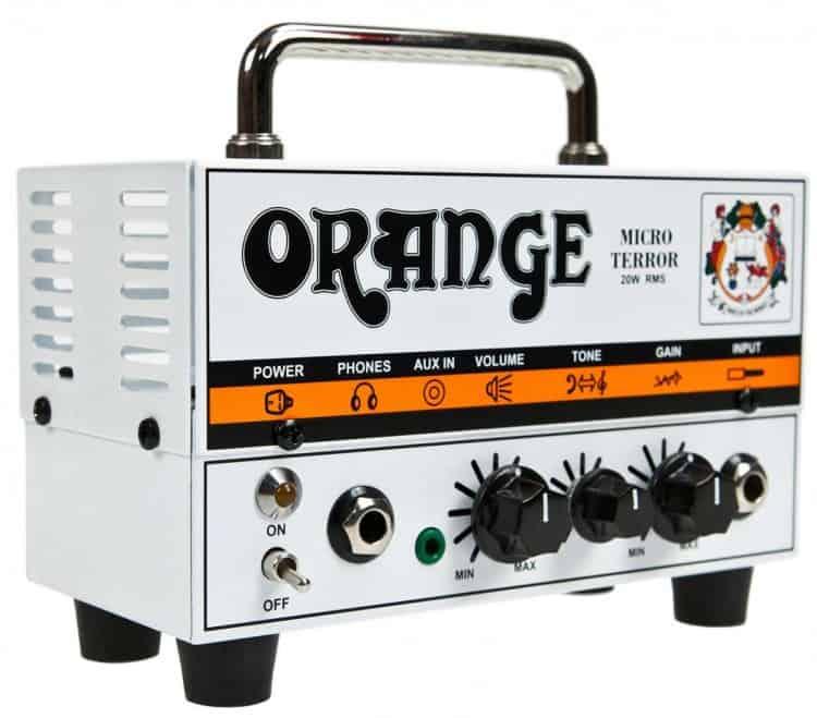 Tiny Tools: Die 5 besten Gitarrenverstärker in Miniatur - Orange Micro Terror