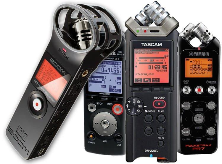 Tiny Tools: Die 4 besten Field Recorder im Miniformat
