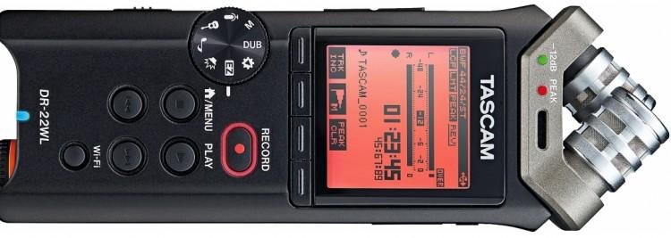 Tiny Tools: Die 4 besten Field Recorder im Miniformat - Tascam DR-22WL
