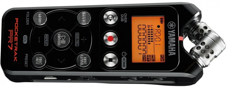Tiny Tools: Die 4 besten Field Recorder im Miniformat - Yamaha Pocketrak PR7