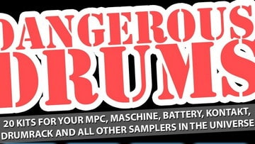 Freeware Friday: Dangerous Drums - 5 Kits von Marco Scherer