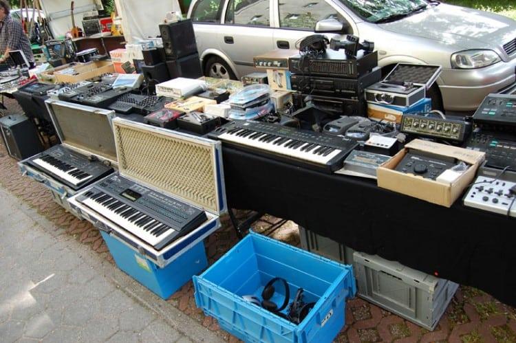 Musikerflohmärkte 2015 bei JustMusic in Hamburg, Berlin und München