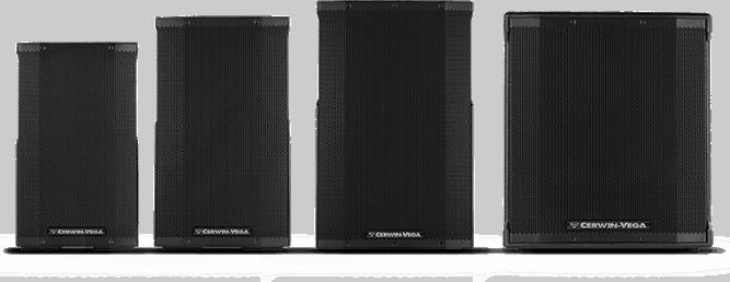 Cerwin-Vega CVE - PA-Lautsprecher im Baukastensystem