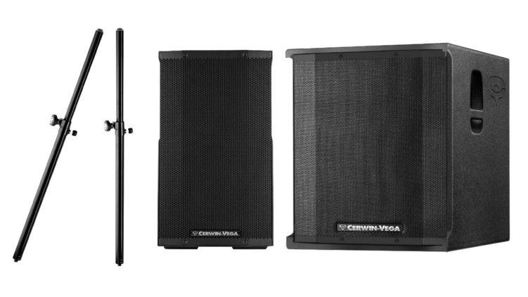 Marktübersicht PA-Lautsprecher - Beispiel-Setups - Cerwin-Vega