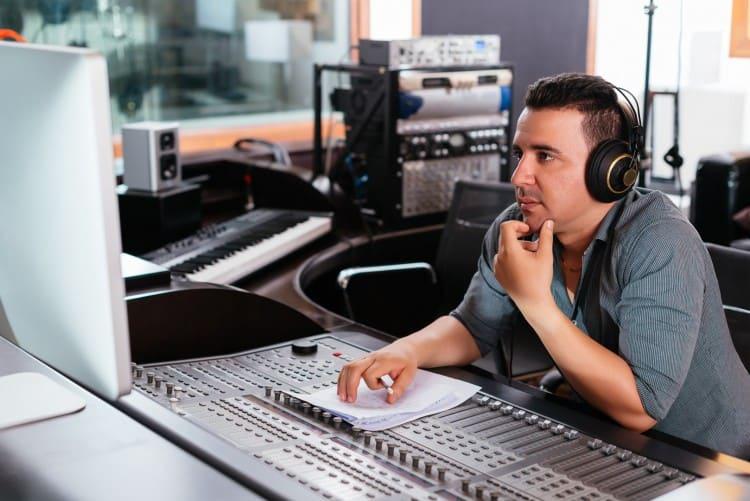 Arbeiten in der Musikindustrie