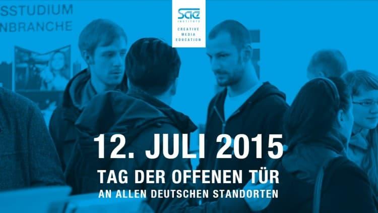 Tag der offenen Tür bei allen deutschen SAE-Instituten - 12. Juli 2015