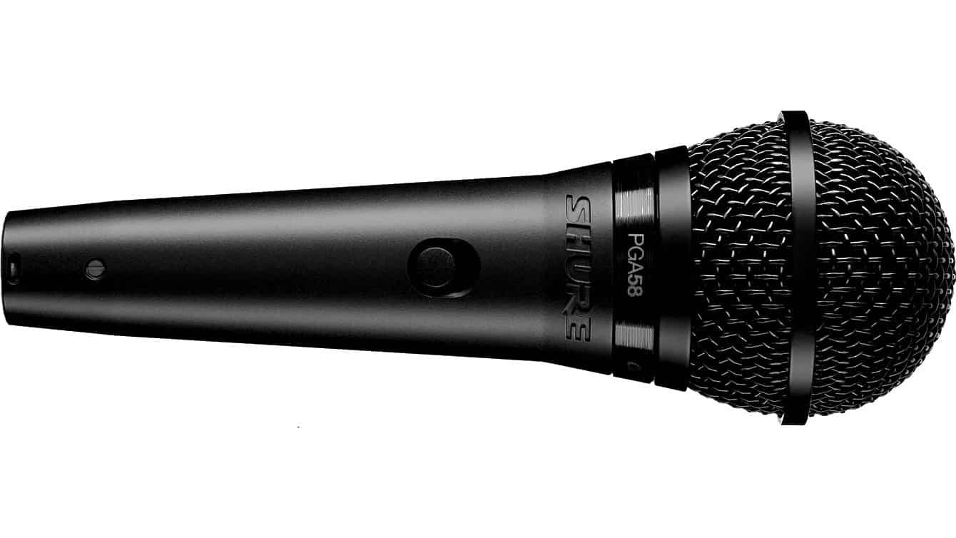 Shure PGA58 Dynamisches Gesangsmikrofon inklusive Kabel