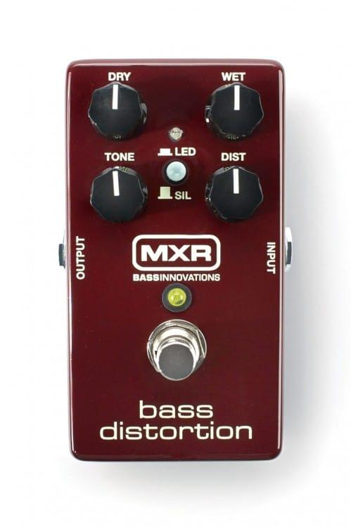 MXR-M85-Bass-Distortion: Dank unterschiedlicher Dioden erhalten Bassisten zwei Distortion-Pedale in einem.
