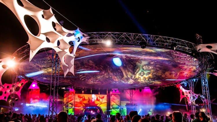 Airbeat One Festival Bühnentechnik