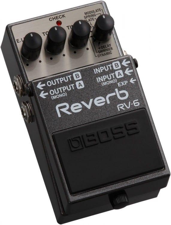Boss RV-6: Der Hersteller nimmt sich den Wünschen der Kunden an.