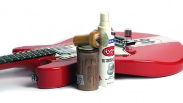 Gitarre pflegen