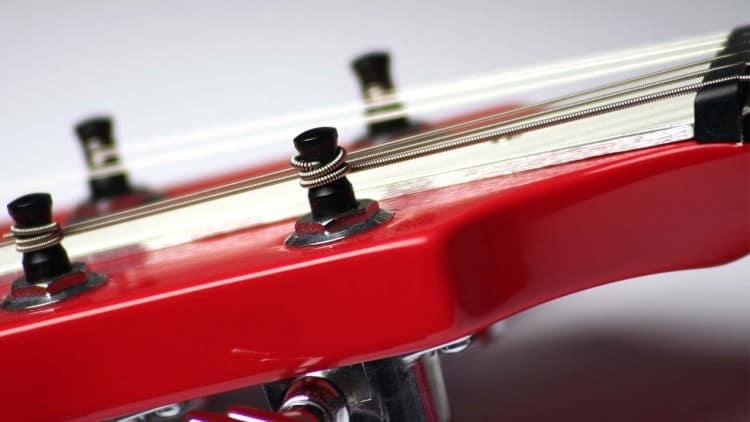 Gitarrensaiten wechseln: So geht's! - Wicklungen