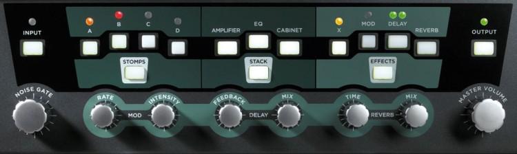Kemper Profiling Amp vs. Axe-FX II XL - Der Kemper Profiling Amp bietet dedizierten Effektkontrollen
