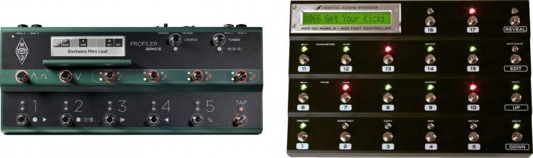 Kemper Profiling Amp vs. Axe-FX II XL - Foot Controller