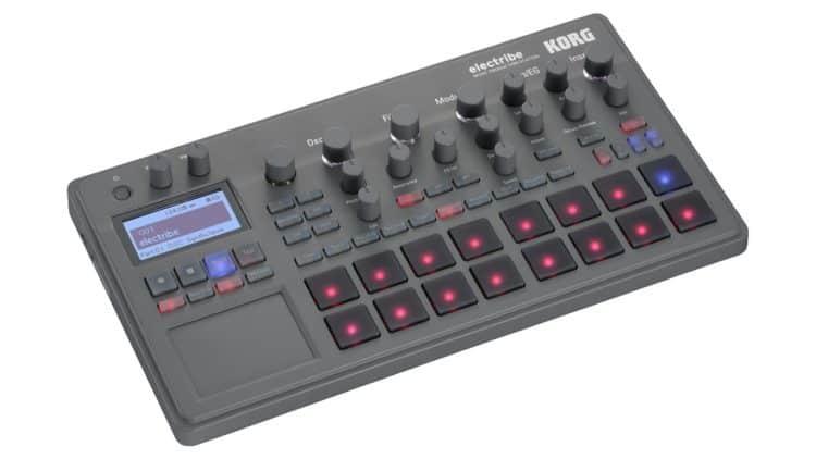 Moderne, schlanke Groovebox für unterwegs - KORG electribe