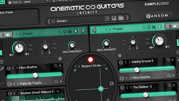 Sample Logic Cinematic Guitars Infinity Testbericht