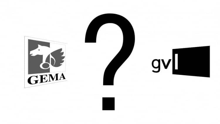 FAQ: Was ist der Unterschied zwischen GEMA und GVL?