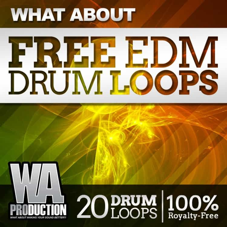 Freeware Friday: Free EDM Drum Loops