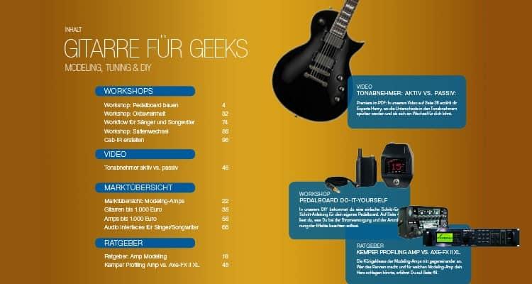 PDF-Magazin Gitarre für Geeks