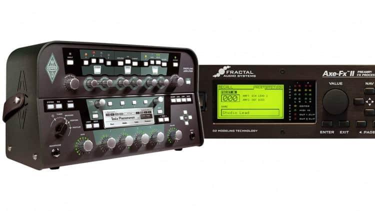Kemper Profiling Amp vs. Axe-FX II XL