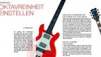 Oktavreinheit Gitarre