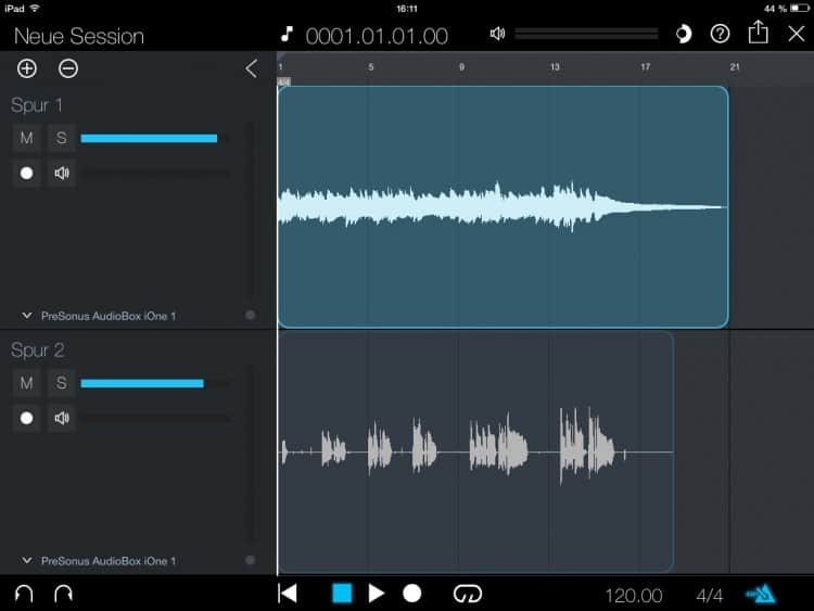 Workflow für Singer/Songwriter Tutorial - PreSonus Capture Duo