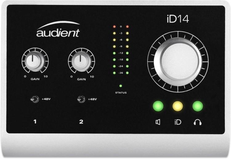Audient iD14 Testbericht