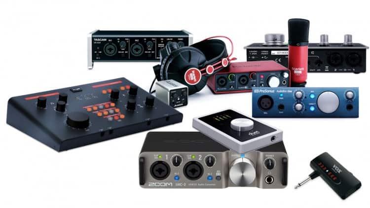 Audio Interfaces für Singer/Songwriter