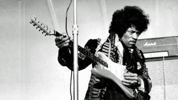 Gitarristen Jimi Hendrix