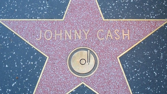 Johnny Cash Star - Walk of Fame
