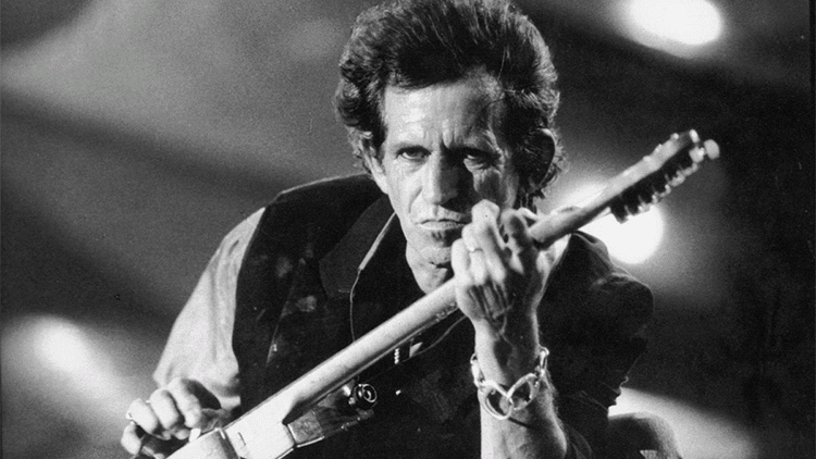 Keith Richards live
