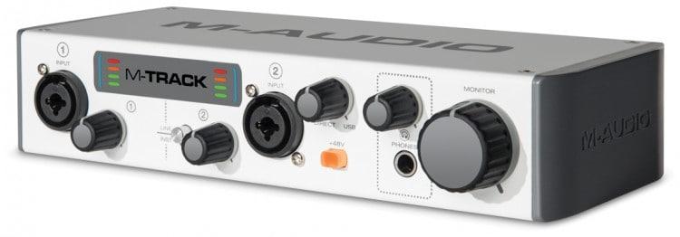 M-Audio M-Track II Testbericht
