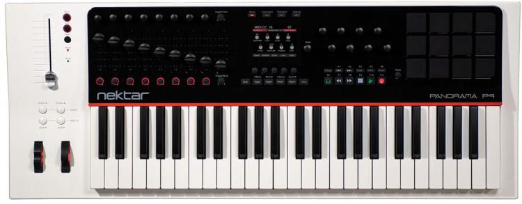 Keyboard Controller: Die besten MIDI Keyboards mit Potis, Pads & Fadern unter 400 Euro - Nektar Panorama P4